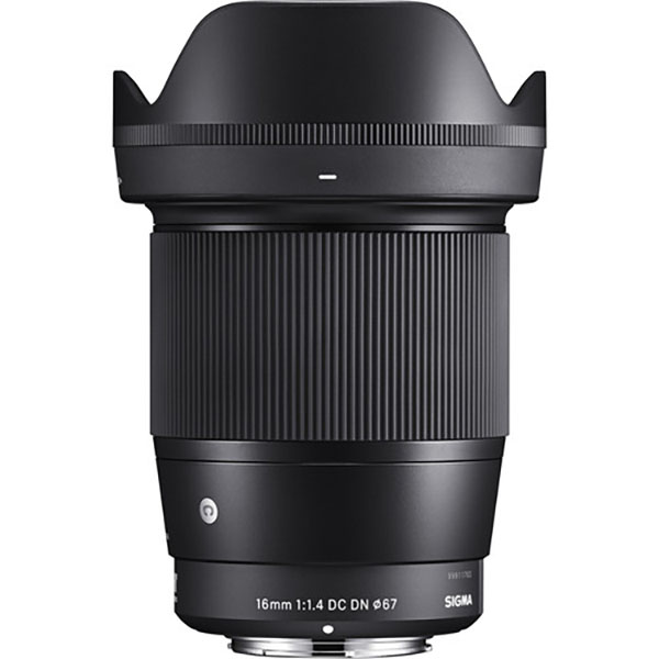 Sigma 16mm f/1.4 DC DN Contemporary Lens for Sony E-Mount