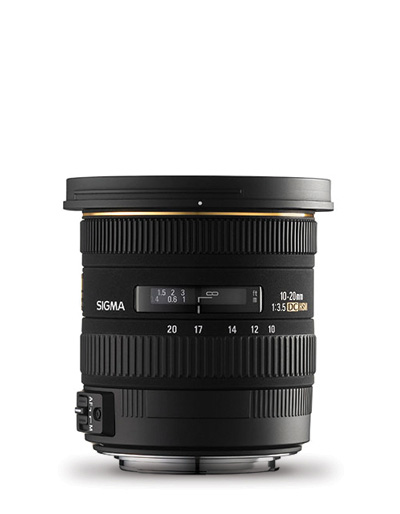 Sigma 10-20mm f/3.5 Ex DC HSM Lens for Pentax