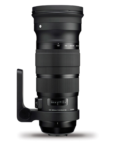 Sigma 120-300mm f/2.8 DG OS Sports Lens for Sigma
