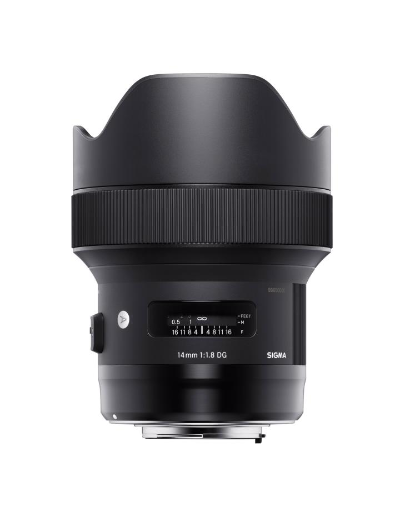 Sigma 14mm f/1.8 DG HSM Art Lens