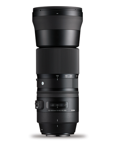 Sigma 150-600mm f/5-6.3 DG OS Contemporary Lens for Canon