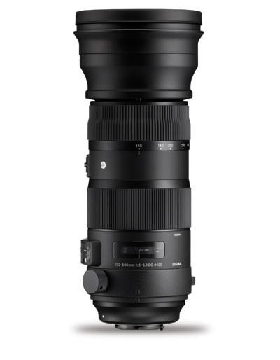 Sigma 150-600mm f/5-6.3 DG OS HSM Sports Lens for Sigma