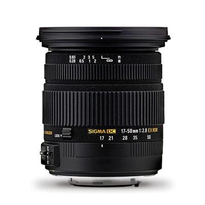 ZSW1750DCHSM - Sigma 17-50mm f/2.8 EX DC