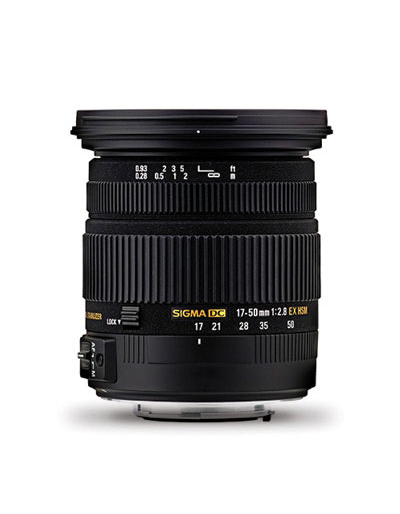 Sigma 17-50mm f/2.8 Ex DC HSM Lens for Sony A-Mount**