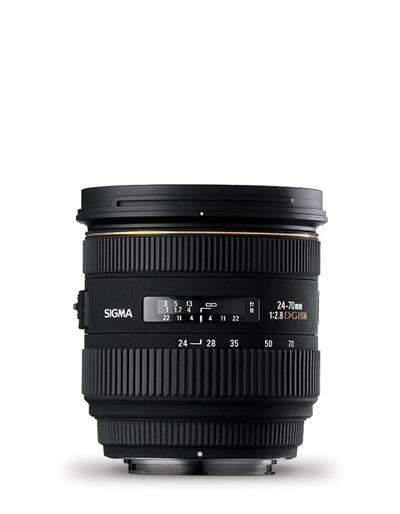 Sigma 24-70mm f/2.8 IF EX DG HSM Lens