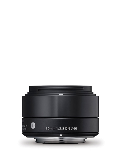 Sigma 30mm f/2.8 DN Black Art Lens for Micro Four Thirds