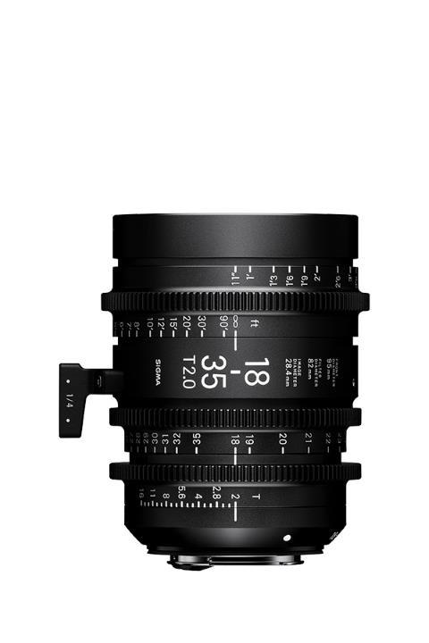 4210966 - Sigma 18-35mm T2 Cine Lens