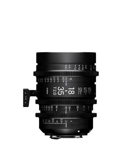 Sigma 18-35mm Cine Lens for Canon EF Mount
