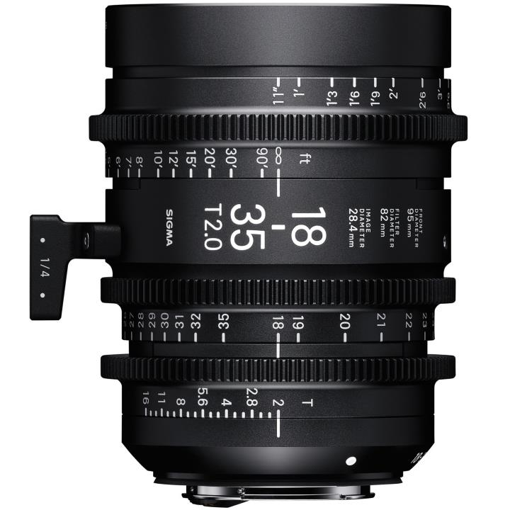 Sigma 18-35mm T2 Cine Lens for Sony E-Mount