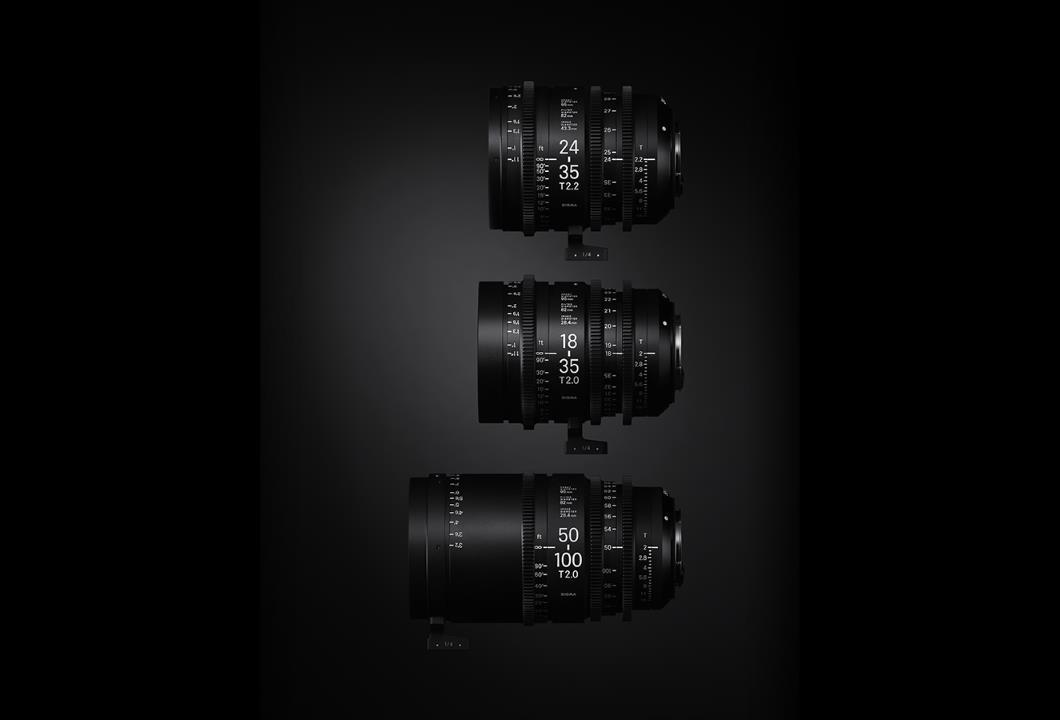 Sigma 24-35mm T2.2 Cine Lens for Canon EF Mount