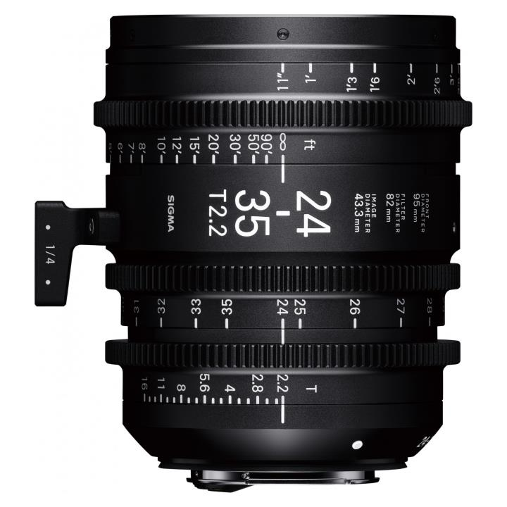 Sigma 24-35mm T2.2 Cine Lens for Canon EF Mount