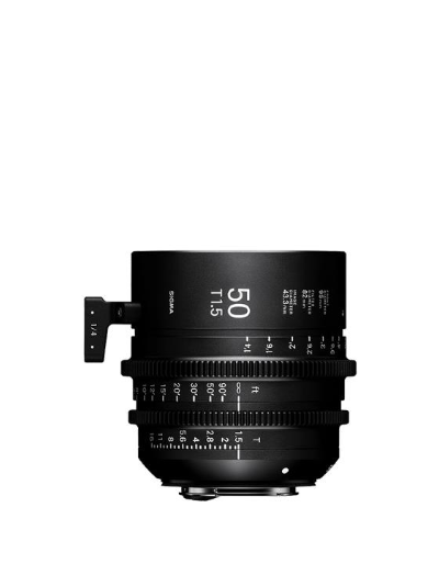 Sigma 50mm T1.5 Cine Lens for Canon EF Mount