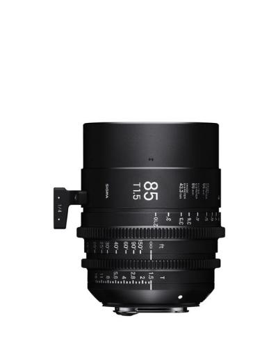 Sigma 85mm T1.5 Cine Lens for PL Mount