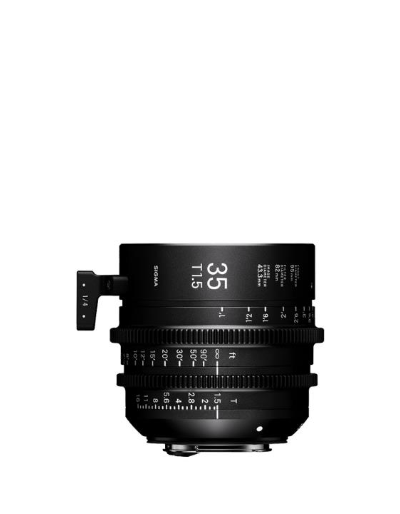 Sigma 35mm T1.5 Cine Lens Fully Luminous Feet for Canon EF Mount