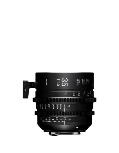 Sigma 35mm T1.5 Canon EF Mount Cine Lens Fully Luminous, Feet