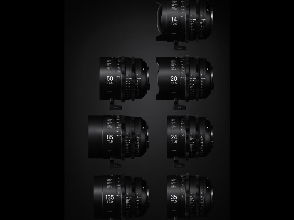Sigma 35mm T1.5 Cine Lens Fully Luminous Feet for Canon EF Mount
