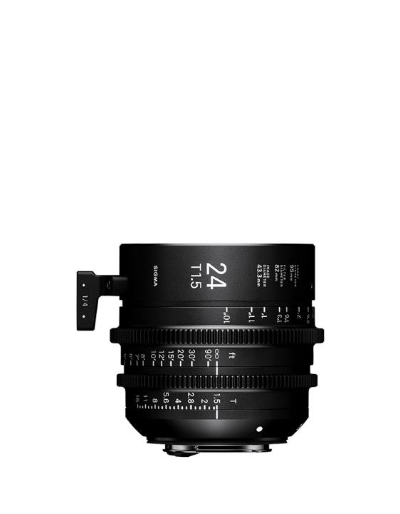 Sigma 24mm T1.5 Cine Lens for Canon EF Mount