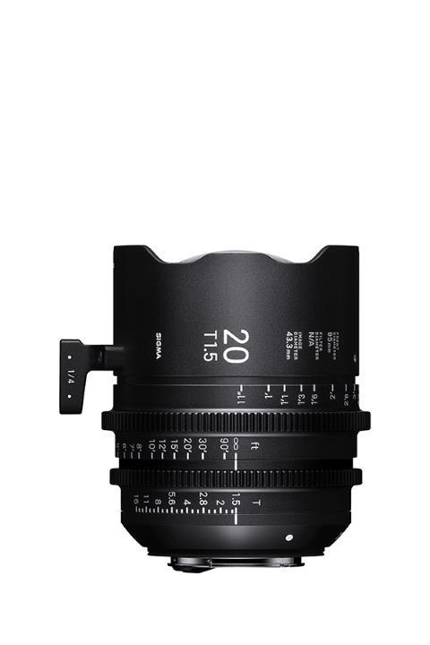 4412968 - Sigma 20mm T1.5 Cine Lens for