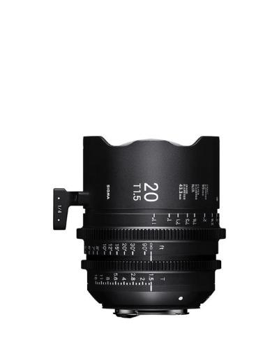 Sigma 20mm T1.5 PL Mount Cine Lens