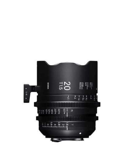 Sigma 20mm T1.5 Sony E-Mount Cine Lens