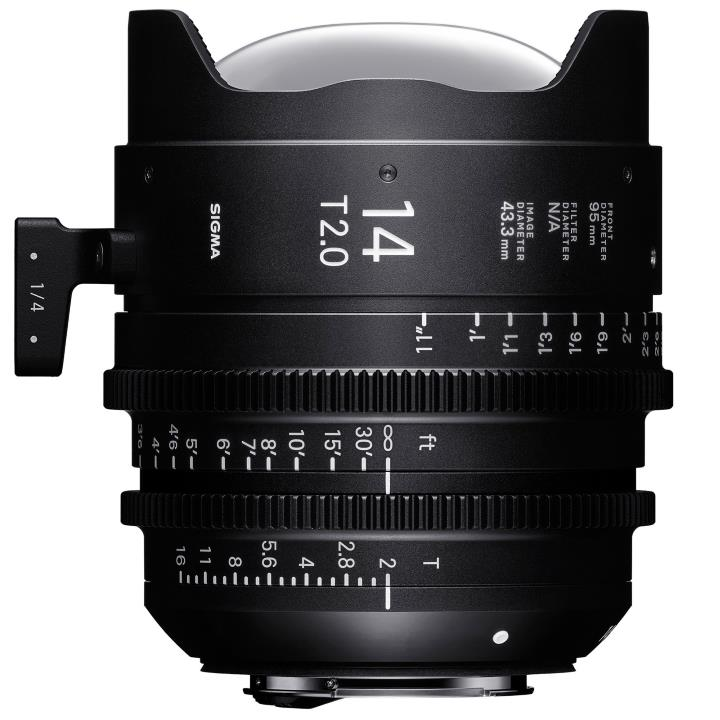 4450968 - Sigma 14mm T2 Cine Lens for