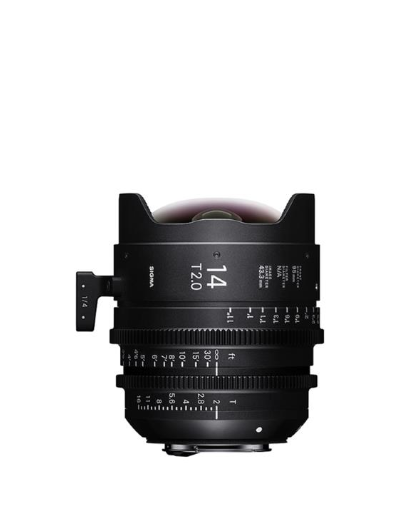Sigma 14mm T2 Cine Lens for Sony E-Mount