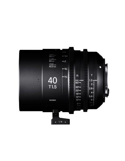Sigma 40mm T1.5 Cine Lens