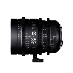 Sigma 18-35mm T2 High Speed Zoom Cine Lens