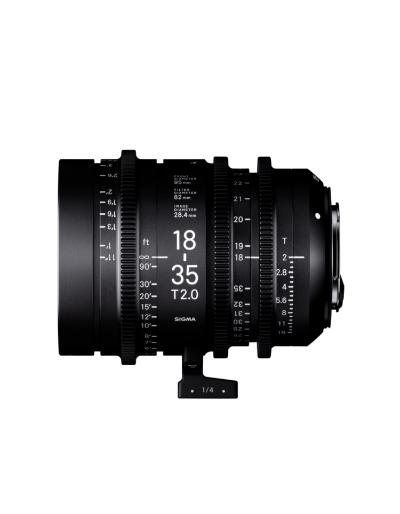 Sigma 18-35mm T2 High Speed Zoom Cine Lens