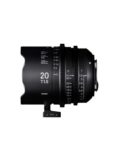 Sigma 20mm T1.5 FF High Speed Prime Cine Lens