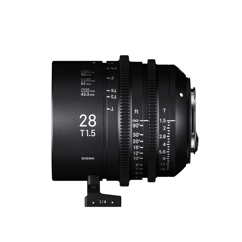 00ZSG28T1.5CL - Sigma 28mm T1.5 Cine Lens