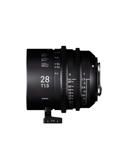 Sigma 28mm T1.5 Cine Lens for PL Mount