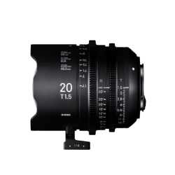 Sigma 20mm T1.5 FF High Speed Prime Cine Lens