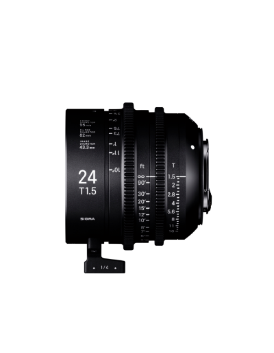 Sigma 24mm T1.5 FF High Speed Prime Cine Lens