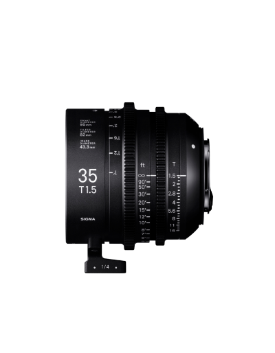 Sigma 35mm T1.5 FF High Speed Prime Cine Lens