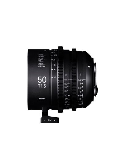 Sigma 50mm T1.5 Cine Lens for PL Mount