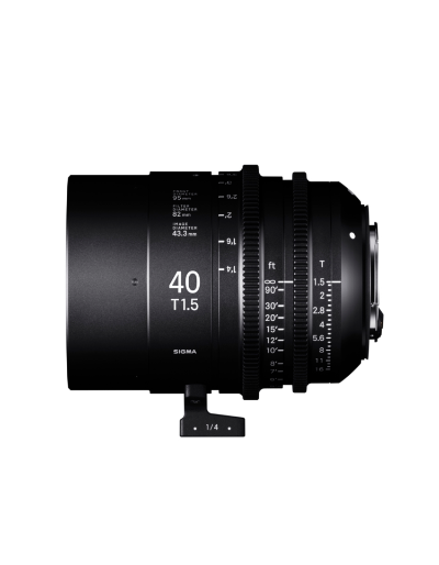 Sigma 40mm T1.5 Cine Lens for Sony E-Mount