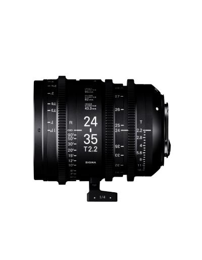 Sigma 24-35mm T2.2 FF Zoom Cine Lens