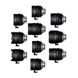 Sigma 10 Cine Lens Classic Kit 14/20/24/28/40/50/85/105/135+ PMC-002+PMC-005 PL Ft /i-Techn