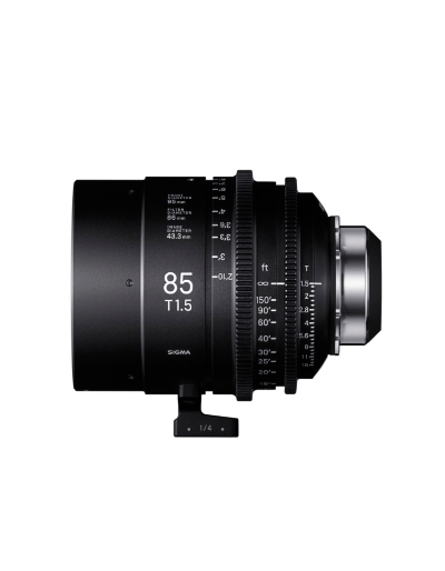 Sigma 85mm T1.5 Cine Lens for PL Mount /i-Technology