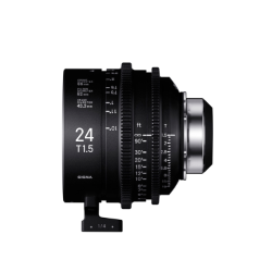 Sigma 24mm T1.5 Cine Lens for PL Mount /i-Technology