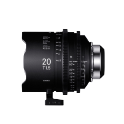 Sigma 20mm T1.5 Cine Lens for PL Mount /i-Technology