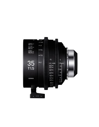 Sigma 35mm T1.5 Cine Lens for PL Mount /i-Technology