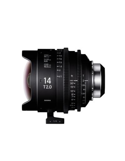 Sigma 14mm T2 Cine Lens for PL Mount /i-Technology