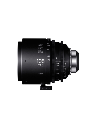 Sigma 105mm T1.5 Cine Lens for PL Mount /i-Technology