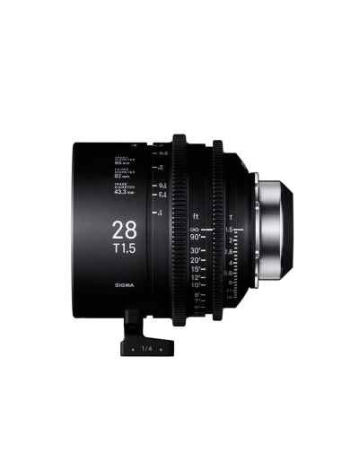 Sigma 28mm T1.5 Cine Lens for PL Mount /i-Technology