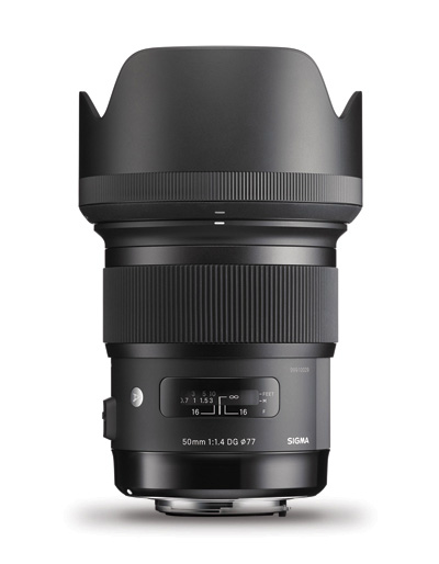 Sigma 50mm f/1.4 DG HSM Art Lens for Nikon