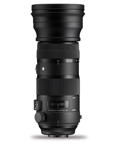 Sigma 150-600mm f/5-6.3 DG OS HSM Sports Lens for Canon