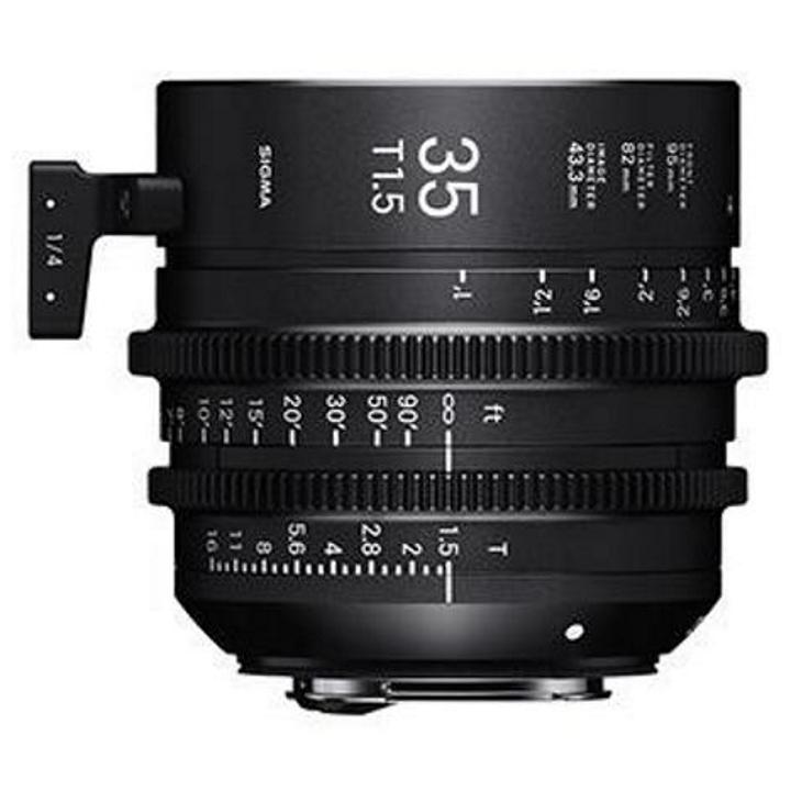 SIGMA FP DIGITAL CAMERA + SIGMA 35mm T1.5 Cine Lens for Canon EF + MC-21 Adap EF-L