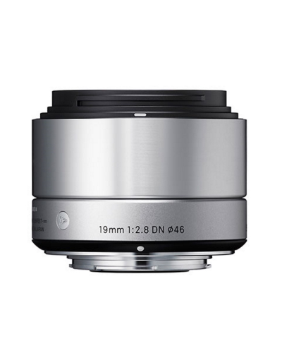Sigma 19mm f/2.8 DN Silver Art Lens for Micro Four Thirds